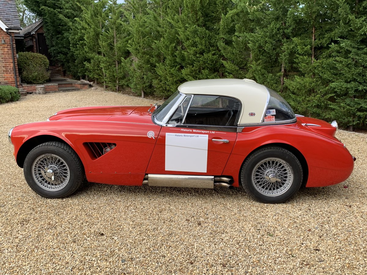 1965 AUSTIN HEALEY ALLOY BODIED WORK SPEC RALLY CAR For Sale (picture 4 of 6)