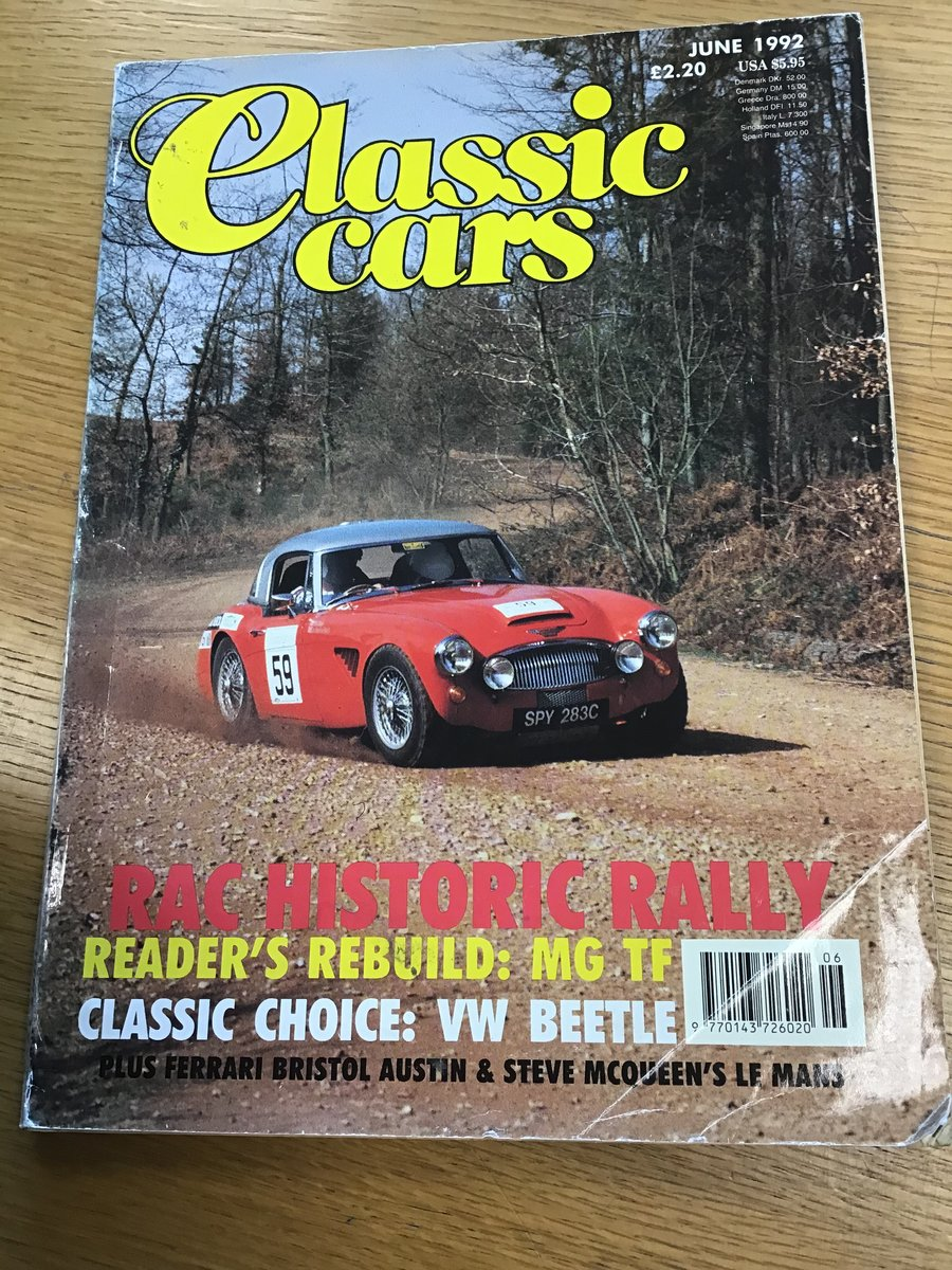 1965 AUSTIN HEALEY ALLOY BODIED WORK SPEC RALLY CAR For Sale (picture 6 of 6)