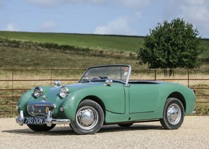 1961 Austin Healey Sprite Mk. I Frogeye SOLD by Auction