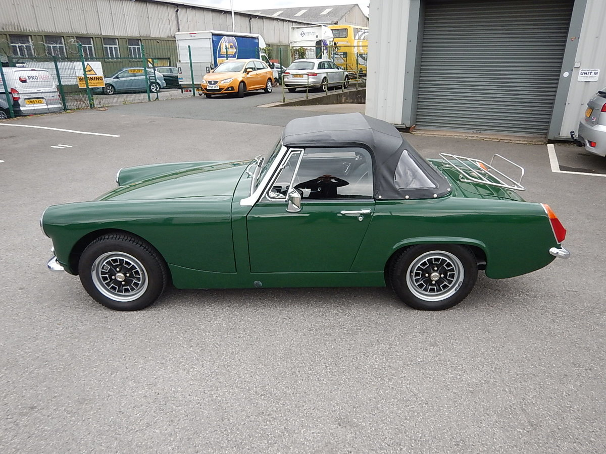 1970 AUSTIN HEALEY Sprite Mk lV SOLD (picture 3 of 6)