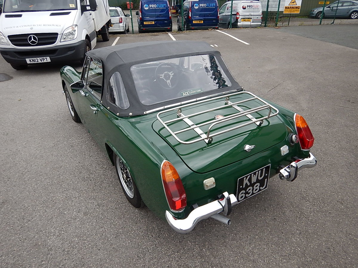 1970 AUSTIN HEALEY Sprite Mk lV SOLD (picture 4 of 6)