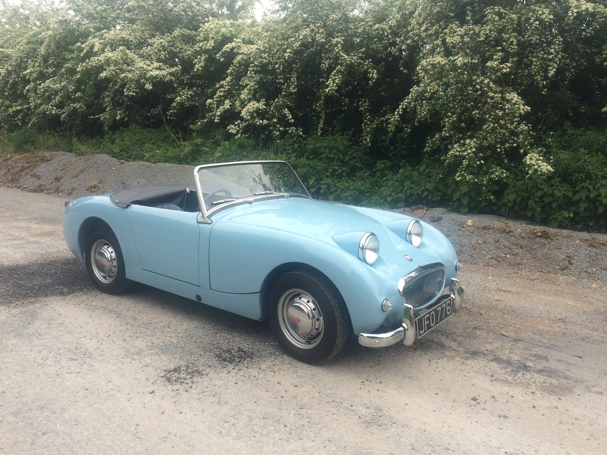 1958 AUSTIN HEALEY MK1 (Frogeye) SPRITE For Sale (picture 9 of 9)