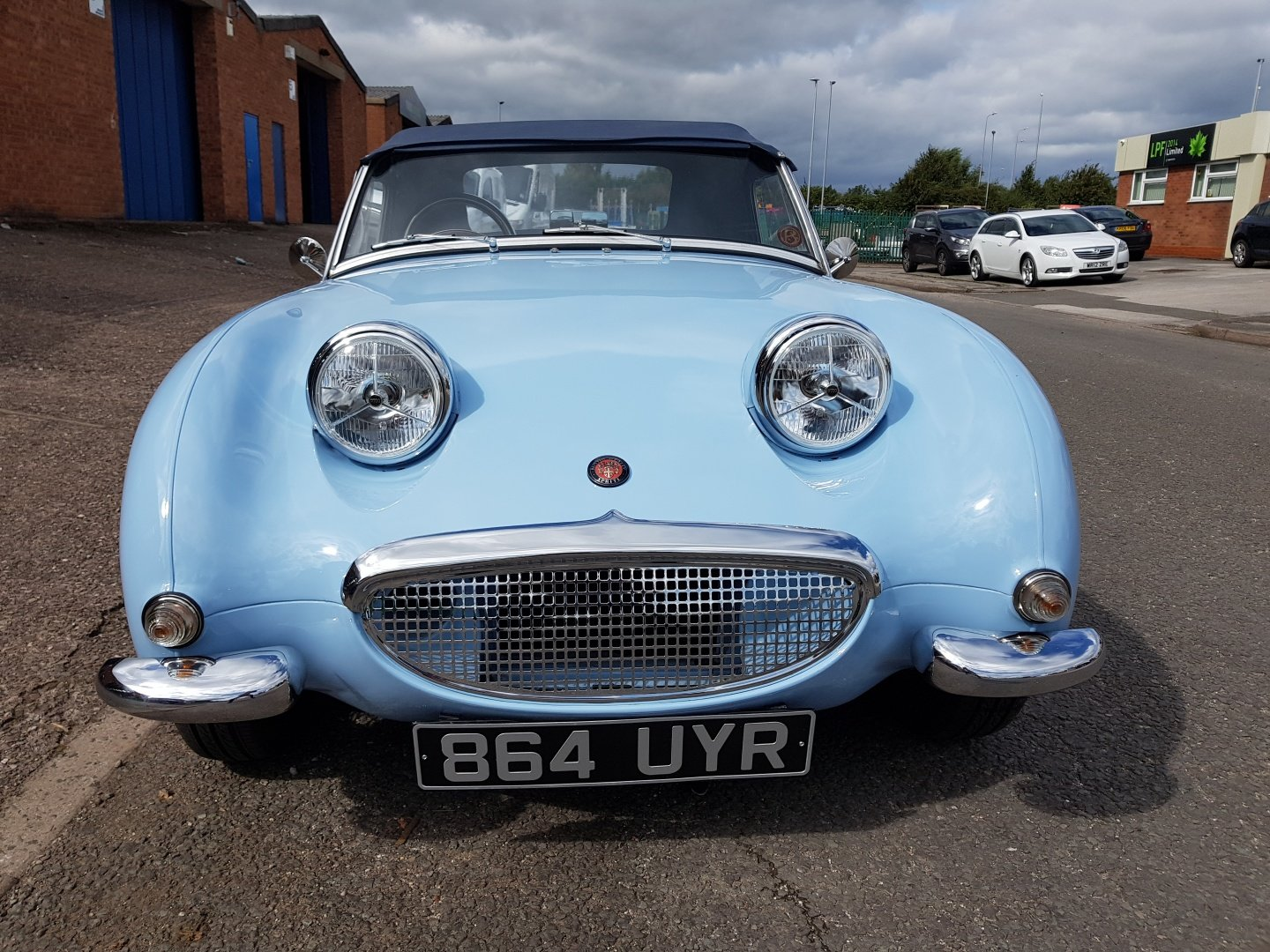 Austin Healey Frog Eye Sprite 1960 1275 Iris Blue Stunning! SOLD (picture 1 of 6)