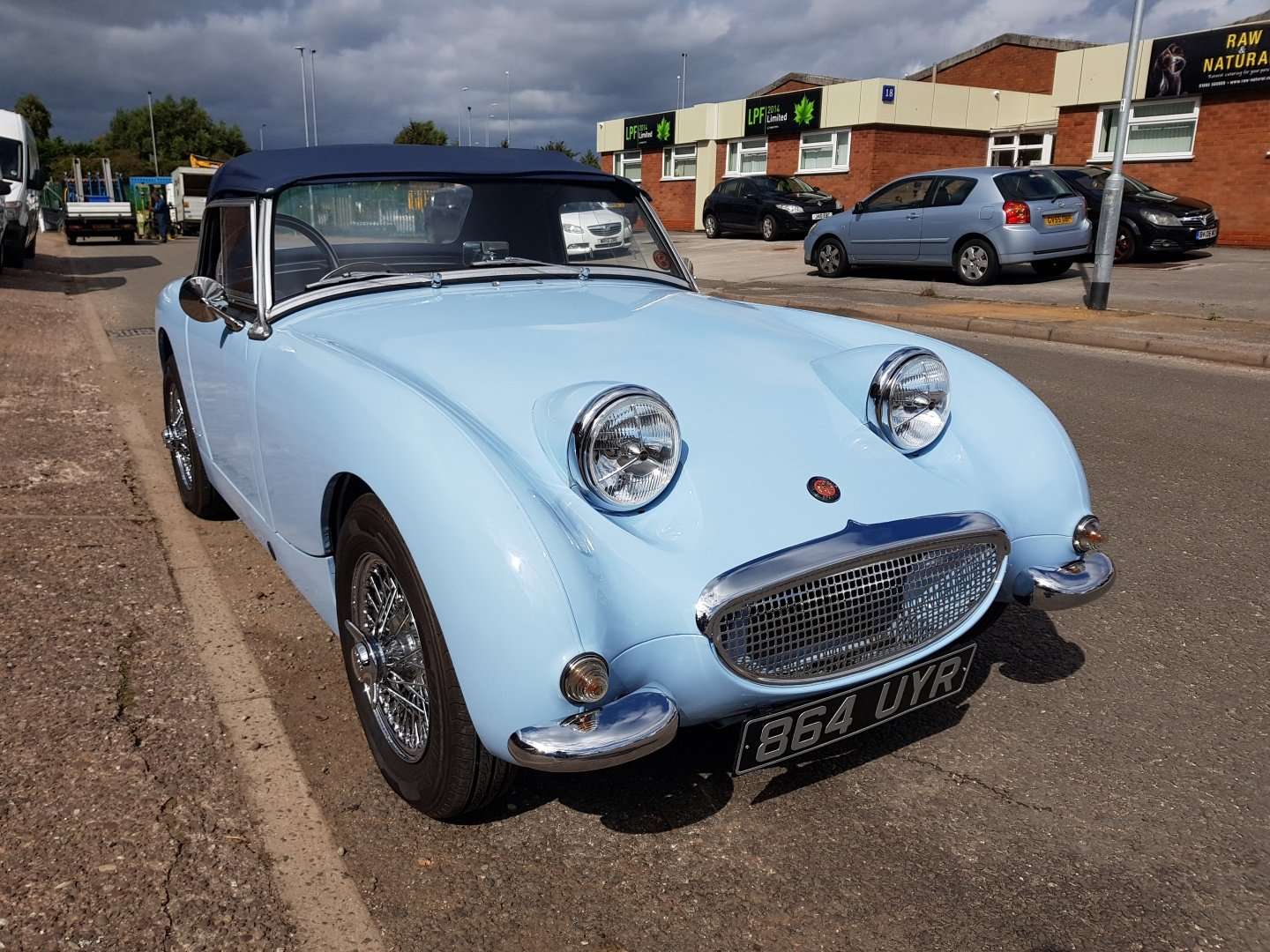Austin Healey Frog Eye Sprite 1960 1275 Iris Blue Stunning! SOLD (picture 3 of 6)