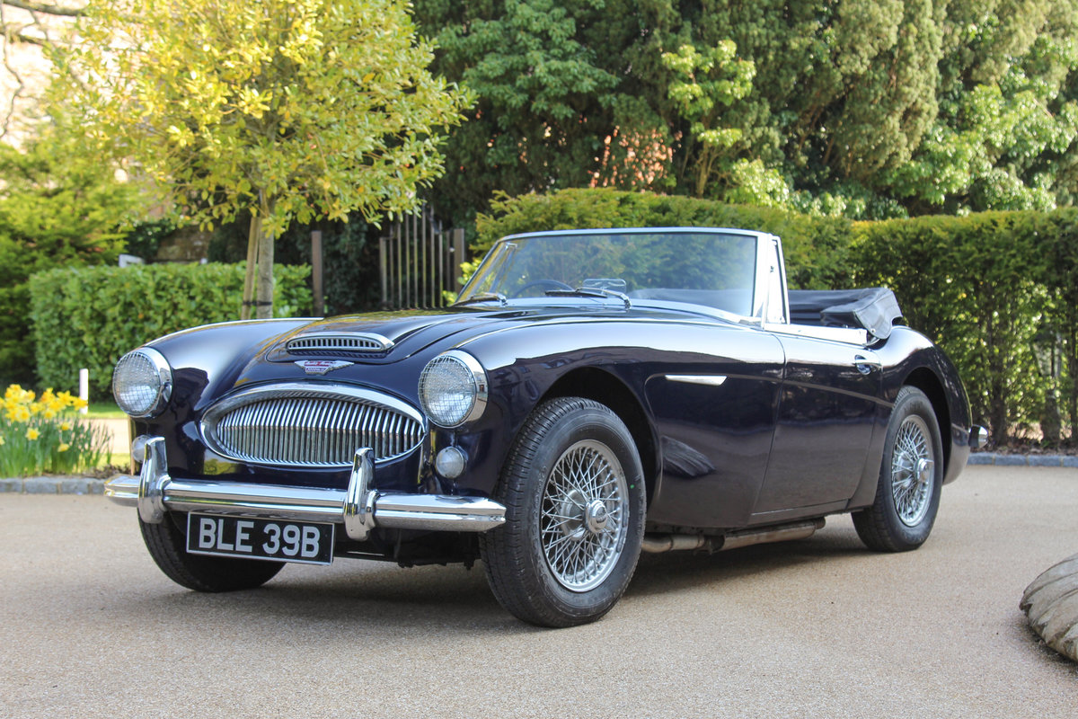 1964 Austin Healey 3000 MkIII | UK RHD, History Back to New SOLD (picture 1 of 5)