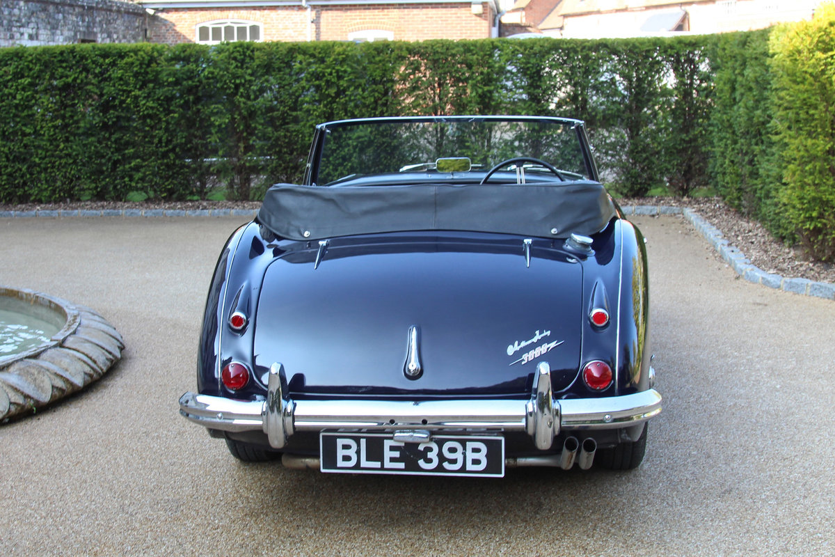 1964 Austin Healey 3000 MkIII | UK RHD, History Back to New SOLD (picture 3 of 5)
