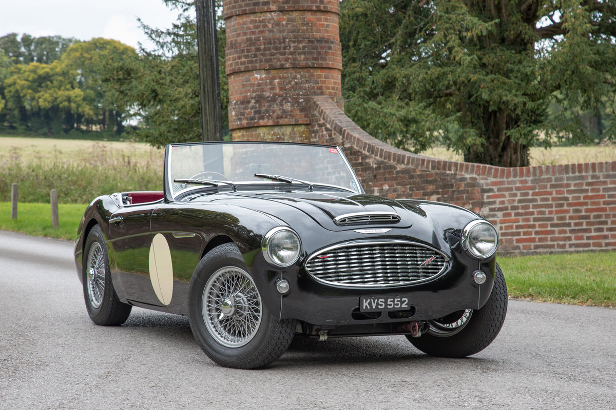 1956 Austin Healey 100/6   1/126 RHD, Upgraded Tastefully SOLD (picture 1 of 6)