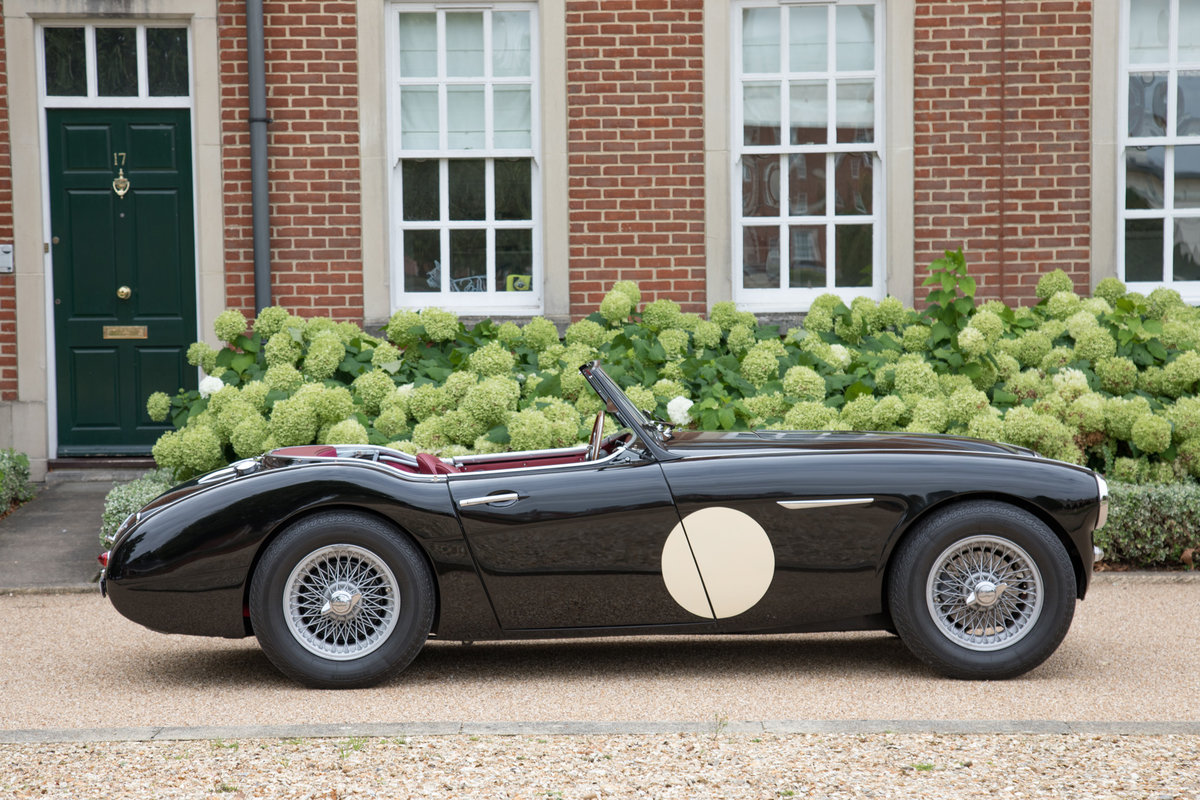 1956 Austin Healey 100/6   1/126 RHD, Upgraded Tastefully SOLD (picture 2 of 6)