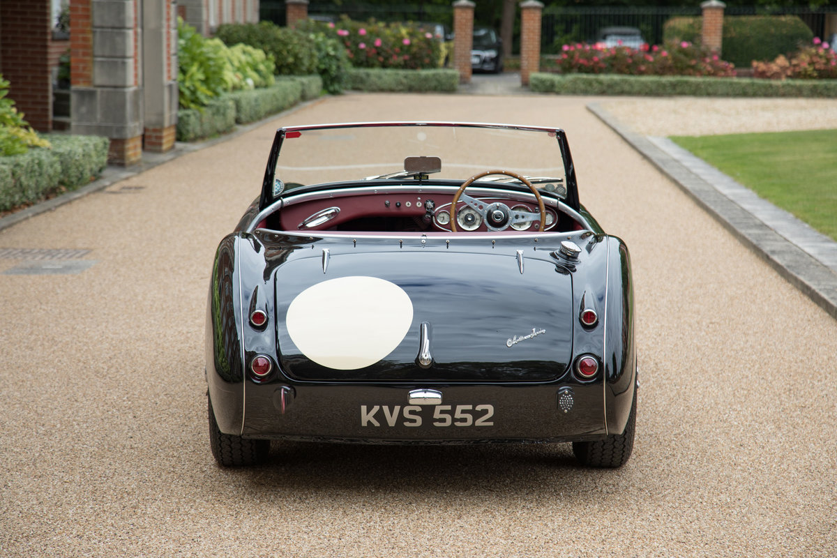 1956 Austin Healey 100/6   1/126 RHD, Upgraded Tastefully SOLD (picture 4 of 6)