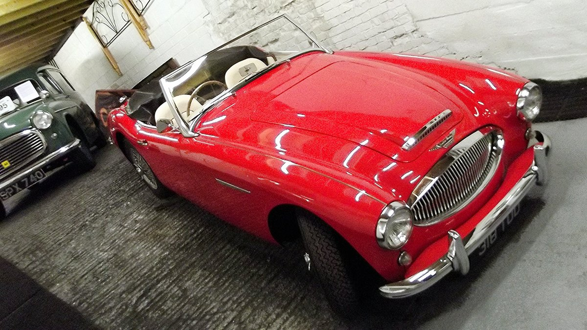 1962 AUSTIN-HEALEY 3000 MKII BT7 (FOUR SEATER MODEL) For Sale (picture 1 of 6)