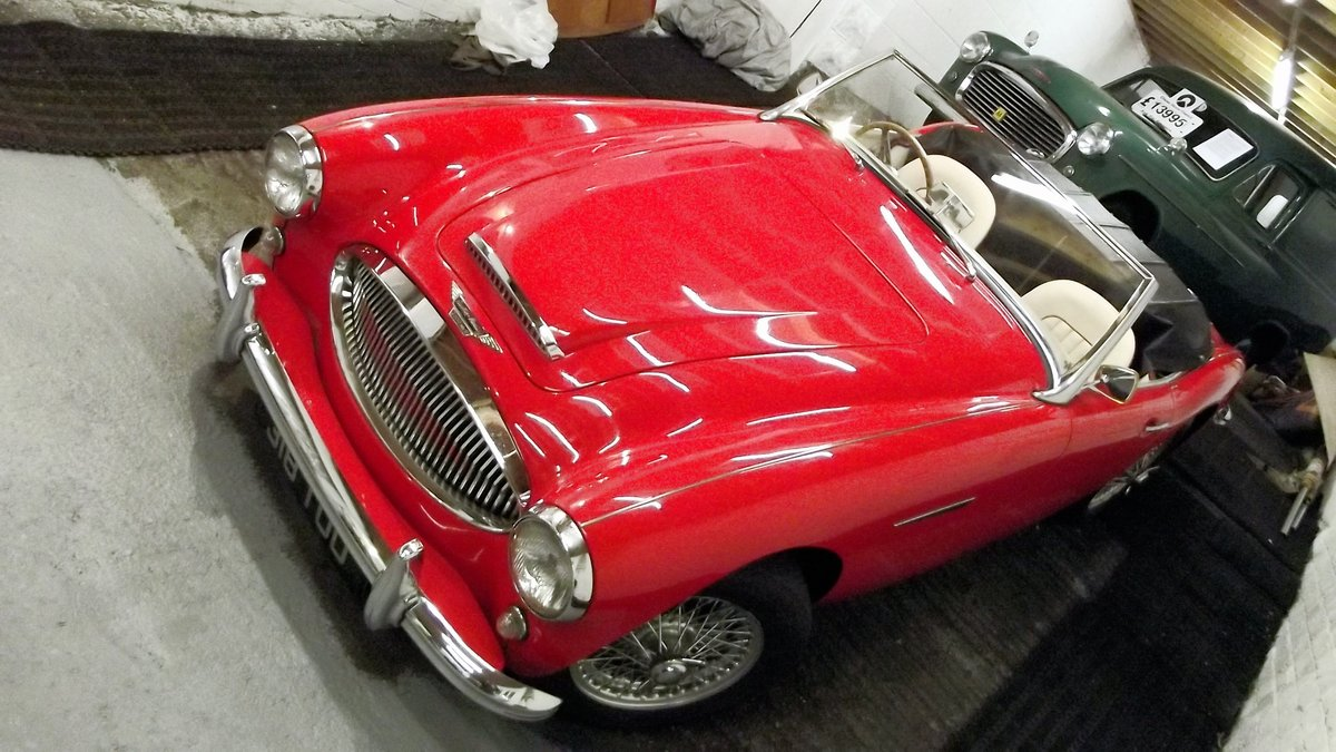 1962 AUSTIN-HEALEY 3000 MKII BT7 (FOUR SEATER MODEL) For Sale (picture 6 of 6)