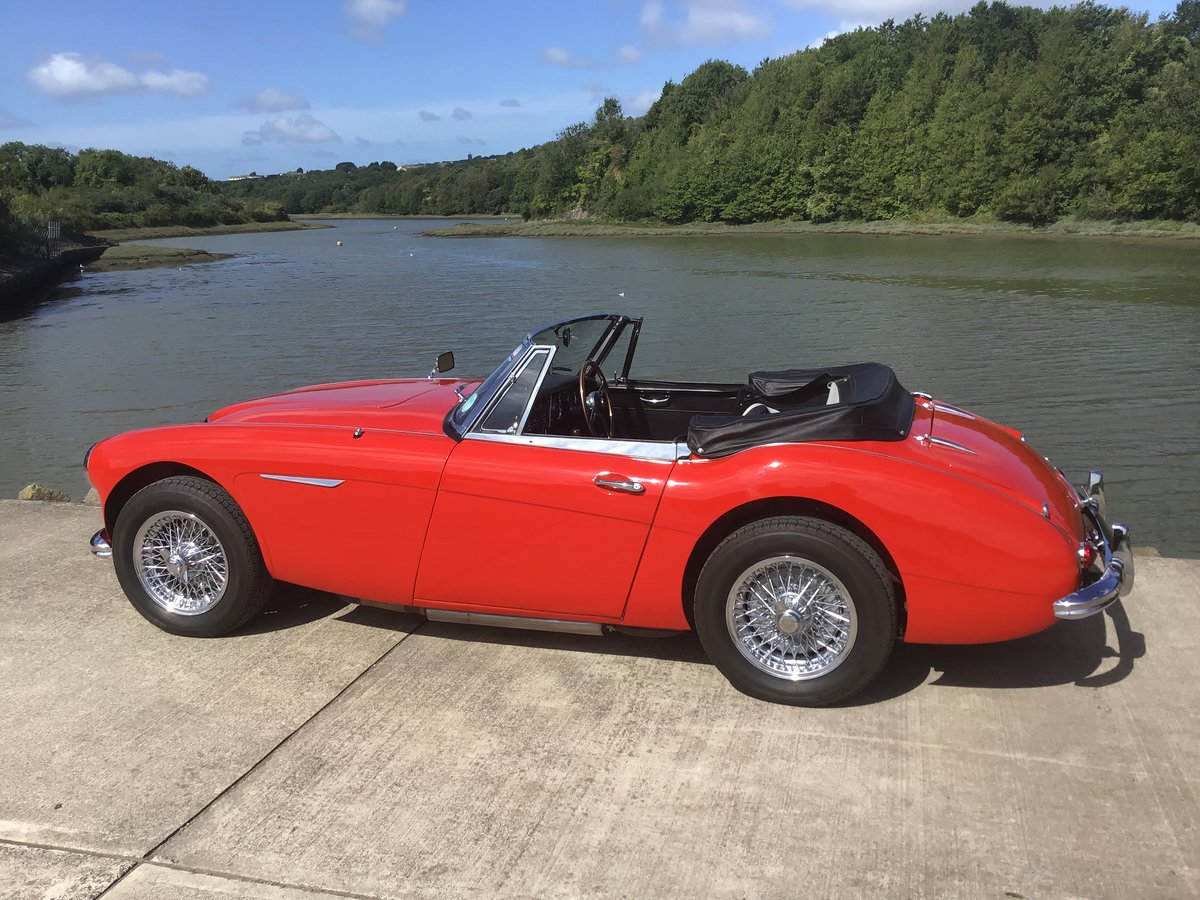 1964 Austin Healey 3000 BJ8. For Sale (picture 4 of 6)