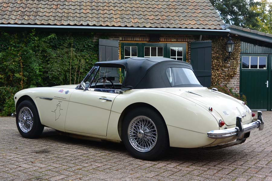 1962 Austin Healey 3000 MKII Convertible Pristine  For Sale (picture 4 of 6)