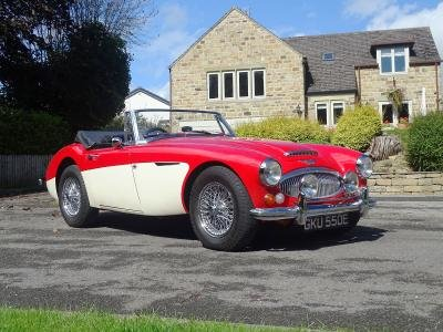 1967 Austin-Healey 3000 MKIII For Sale by Auction (picture 1 of 6)