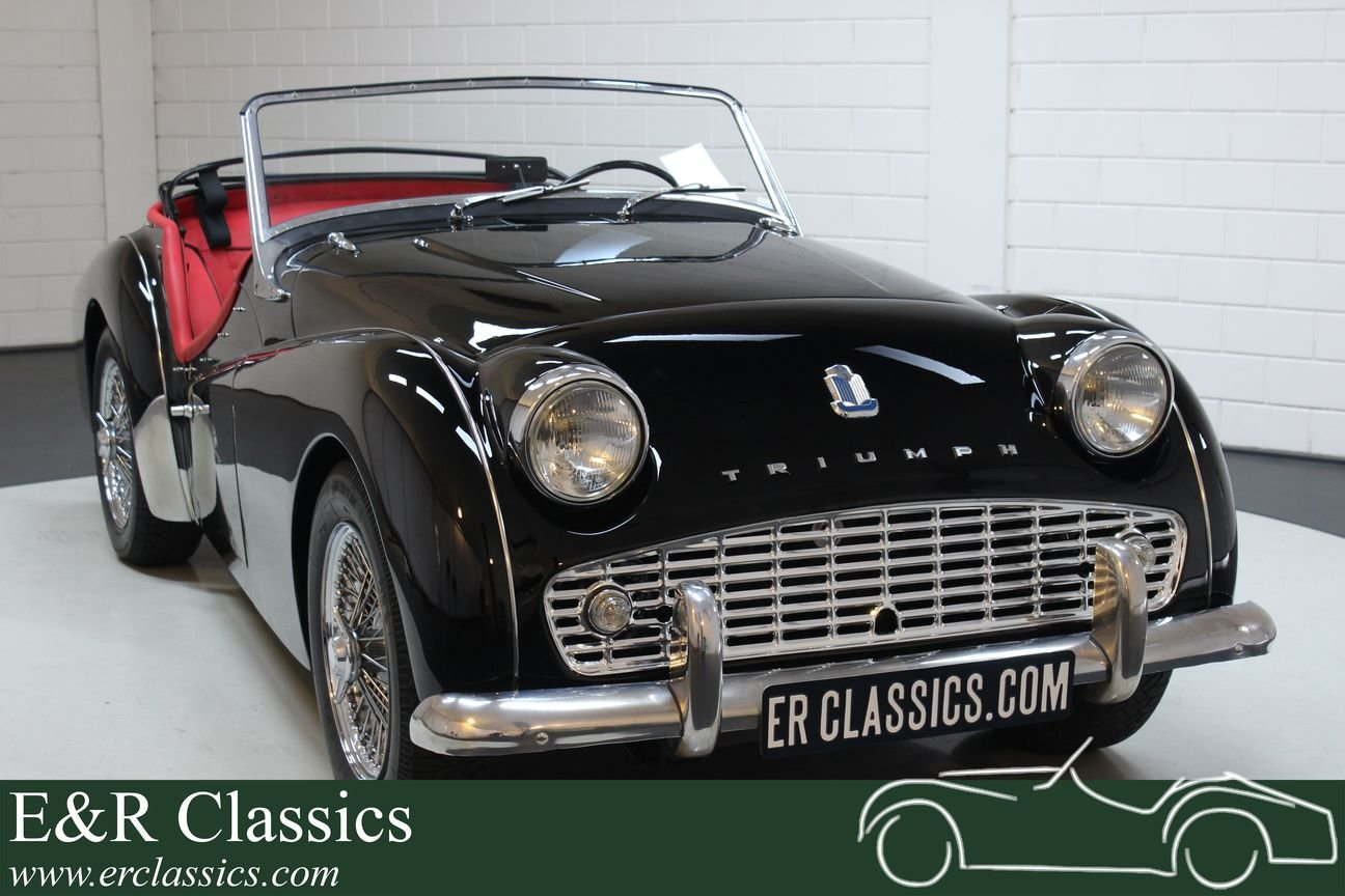 Triumph TR3 A Cabriolet 1959 Fully restored For Sale (picture 1 of 6)