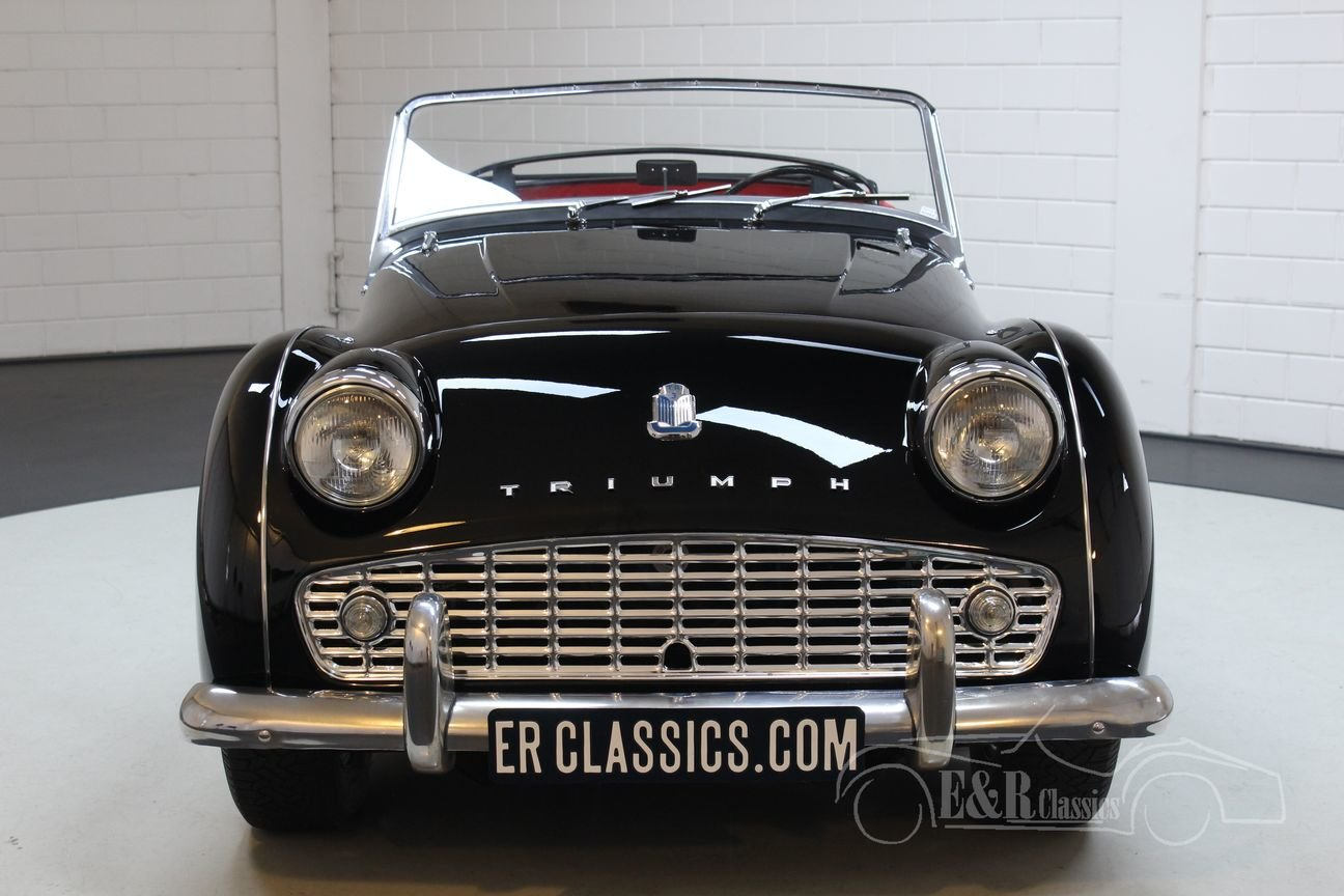 Triumph TR3 A Cabriolet 1959 Fully restored For Sale (picture 4 of 6)