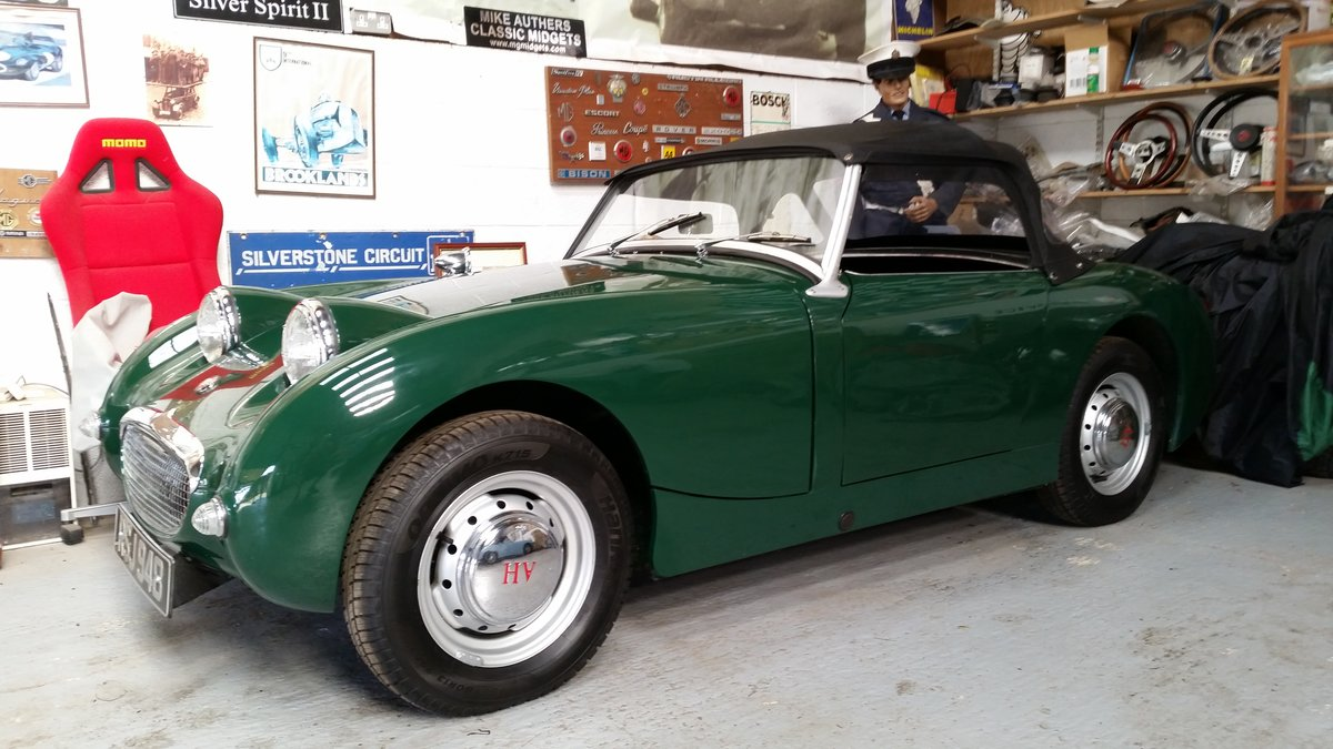 1959 Austin Healey Frogeye Sprite 1275cc For Sale (picture 3 of 6)