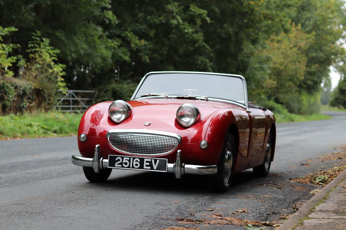 1959 Austin Healey Frogeye Sprite MKI - Lovely older restoration  For Sale (picture 3 of 16)