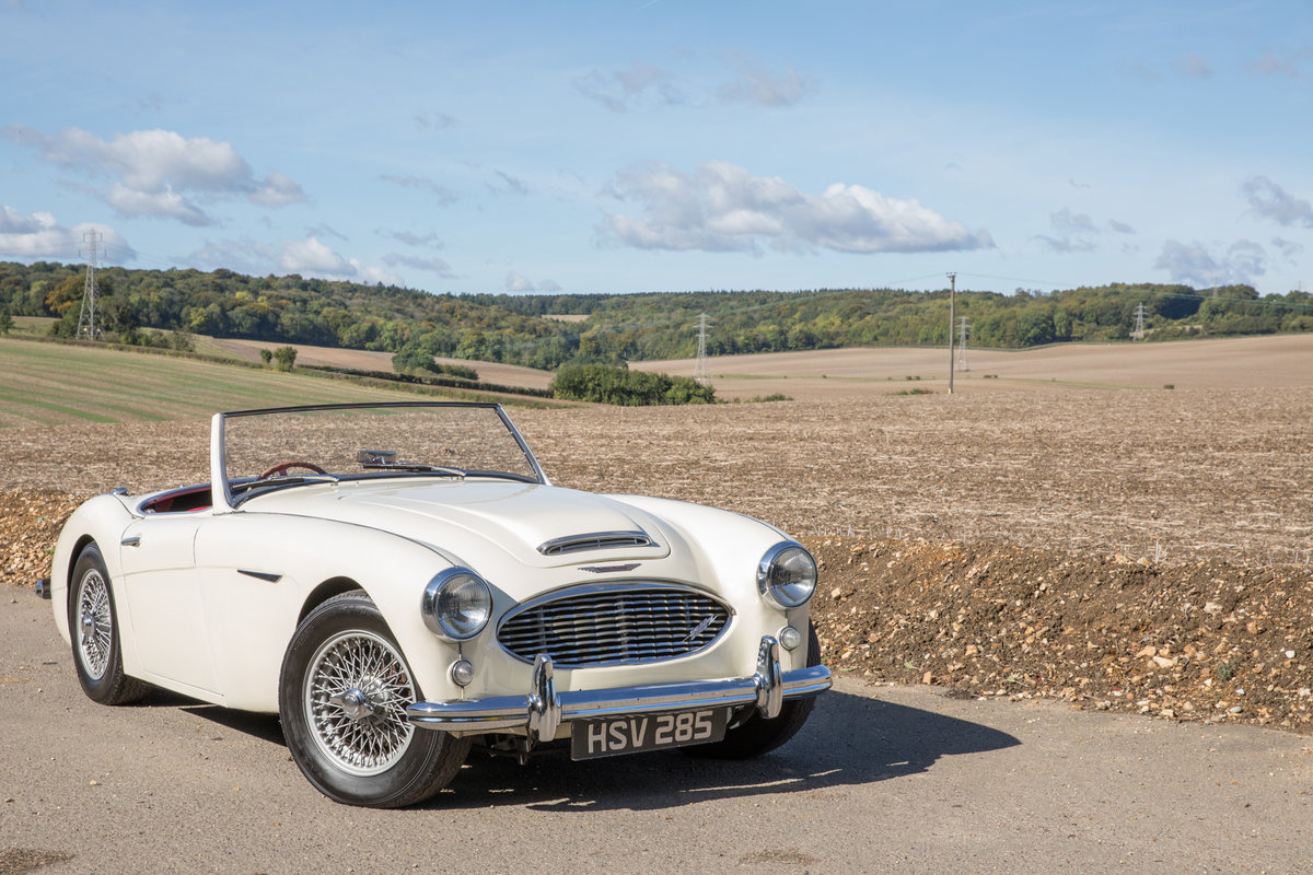 1959 Austin Healey 300 MkI BN7 | UK RHD w. Factory Hardtop For Sale (picture 1 of 6)