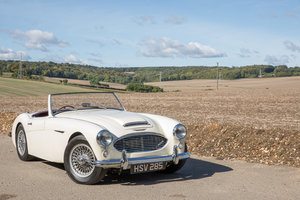1959 Austin Healey 300 MkI BN7 | UK RHD w. Factory Hardtop For Sale