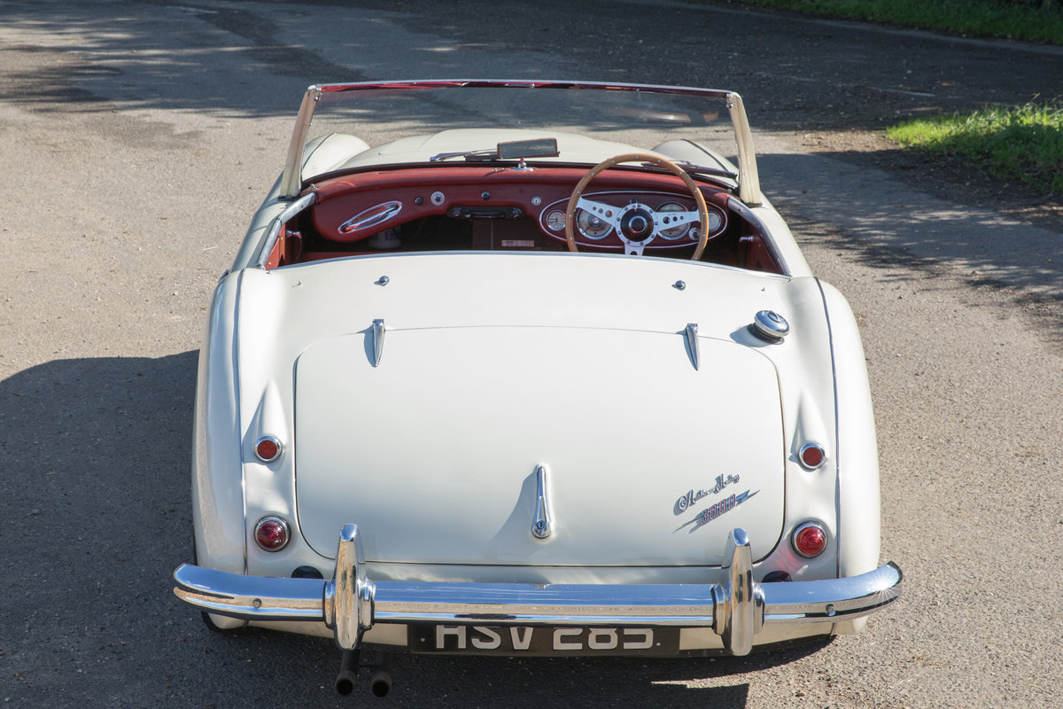 1959 Austin Healey 300 MkI BN7 | UK RHD w. Factory Hardtop For Sale (picture 4 of 6)