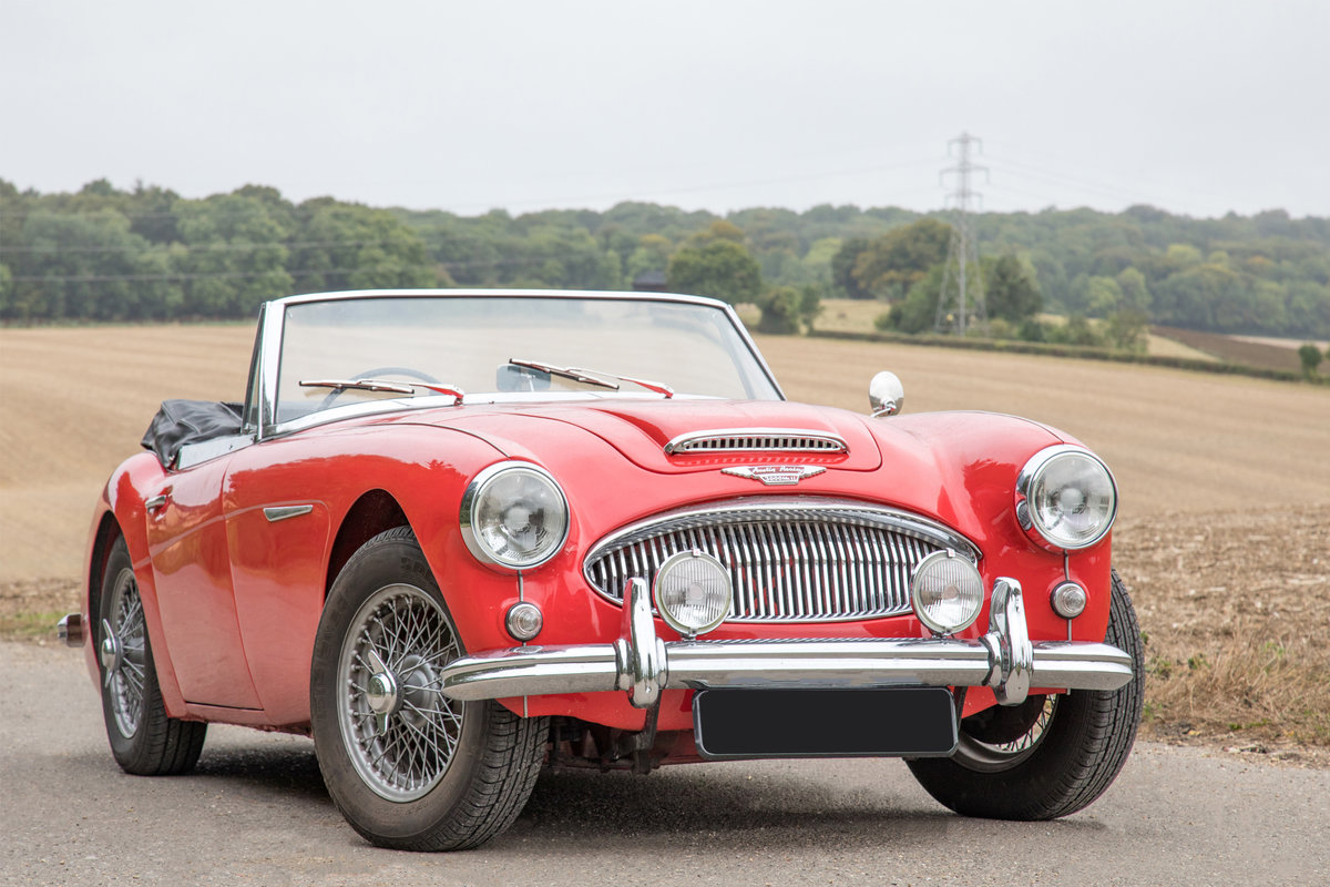 1962 Austin Healey 3000 MkIIA| 1 of 455 UK BJ7 Models For Sale (picture 1 of 6)