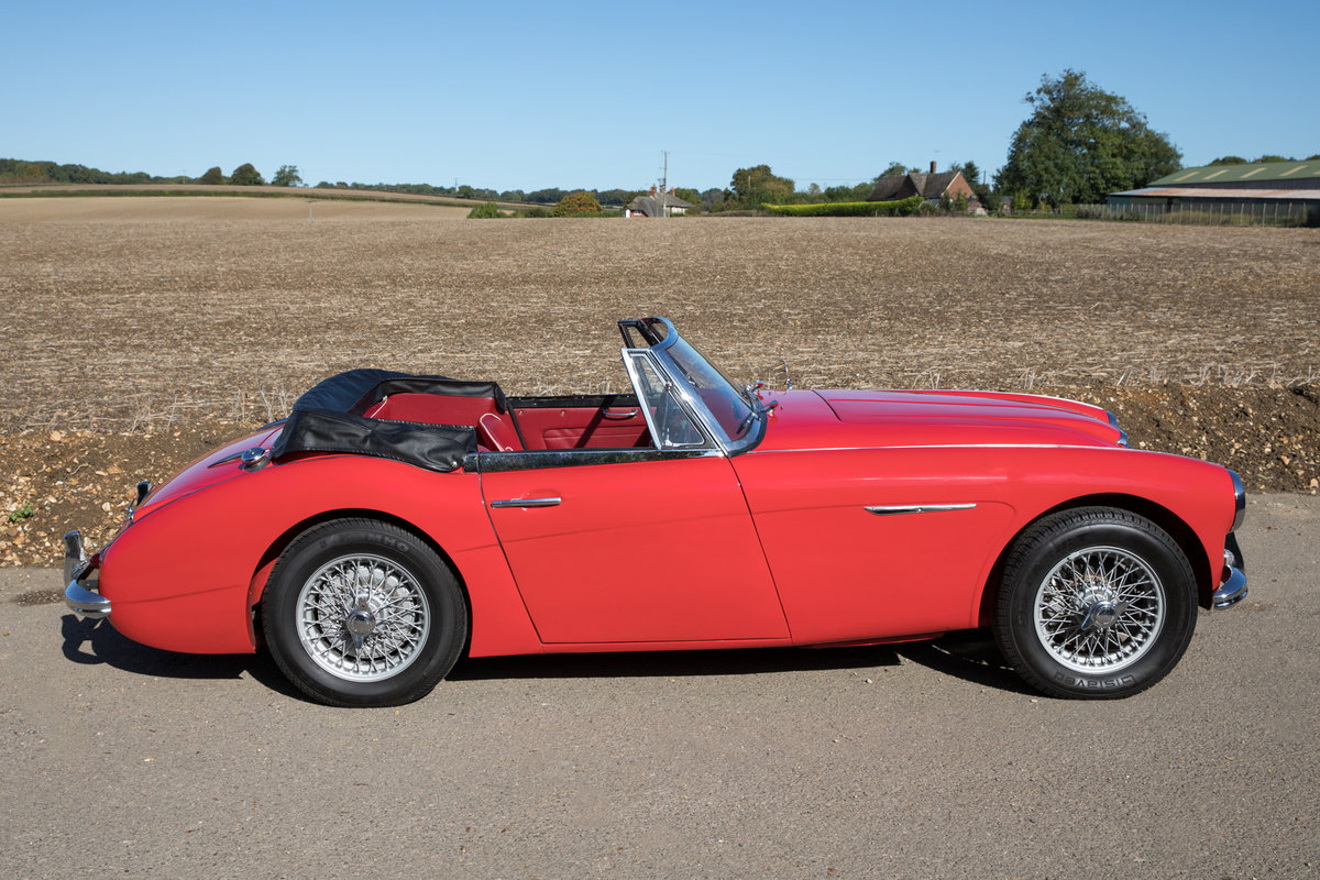 1962 Austin Healey 3000 MkIIA| 1 of 455 UK BJ7 Models For Sale (picture 3 of 6)