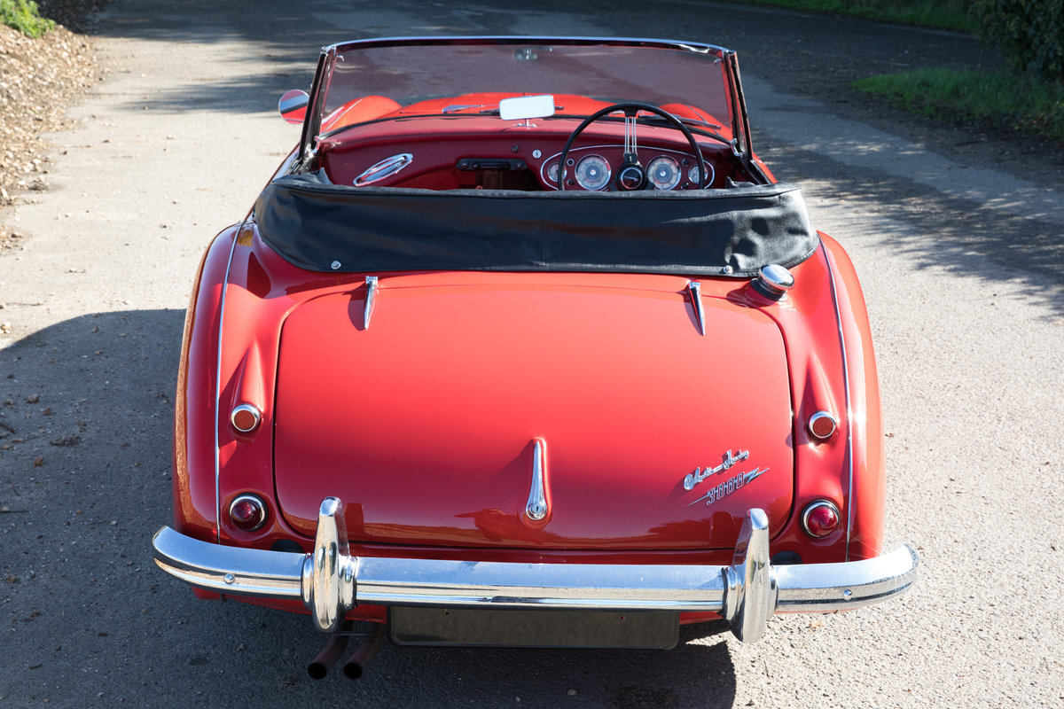 1962 Austin Healey 3000 MkIIA| 1 of 455 UK BJ7 Models For Sale (picture 4 of 6)