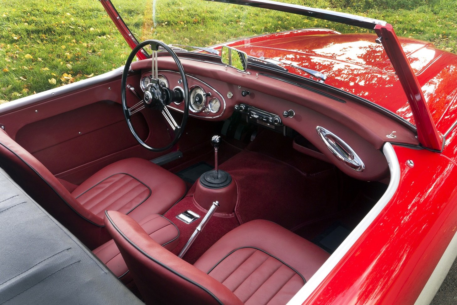 1962 Austin Healey 3000 MKII BT7 - Tri Carb / Centre Change For Sale (picture 5 of 6)