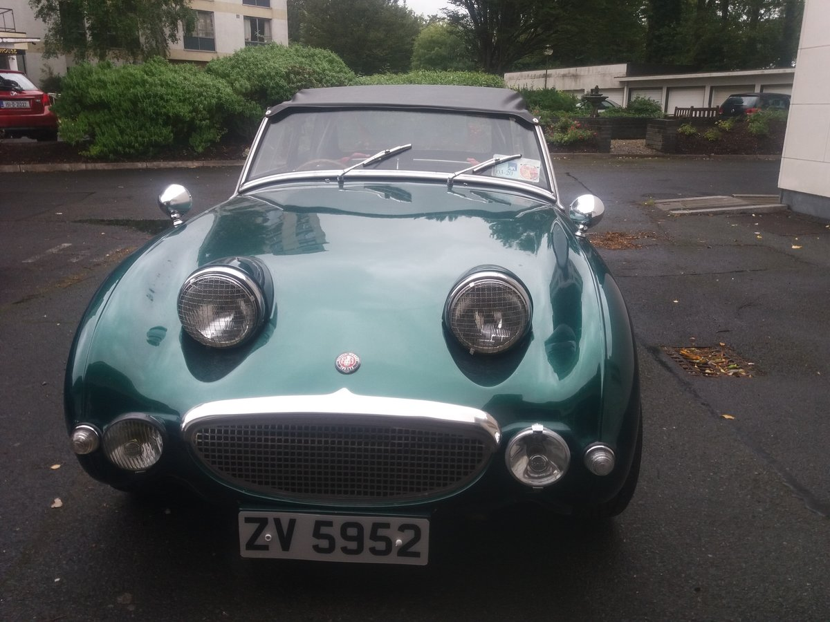 1960 Austin Healey frogeye sprite rally prepped For Sale (picture 3 of 6)