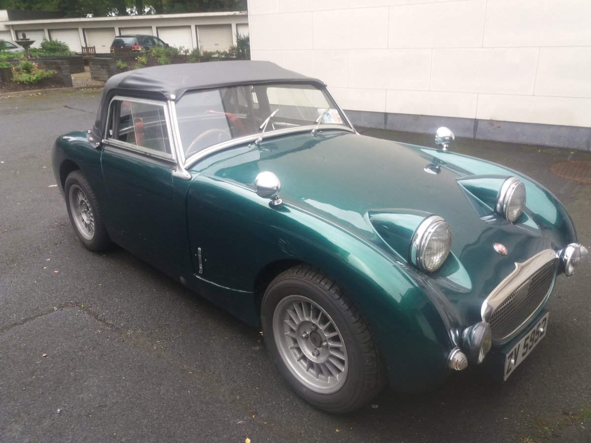 1960 Austin Healey frogeye sprite rally prepped For Sale (picture 4 of 6)