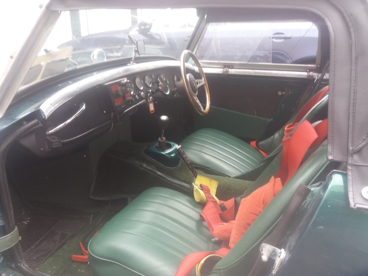 1960 Austin Healey frogeye sprite rally prepped For Sale (picture 5 of 6)