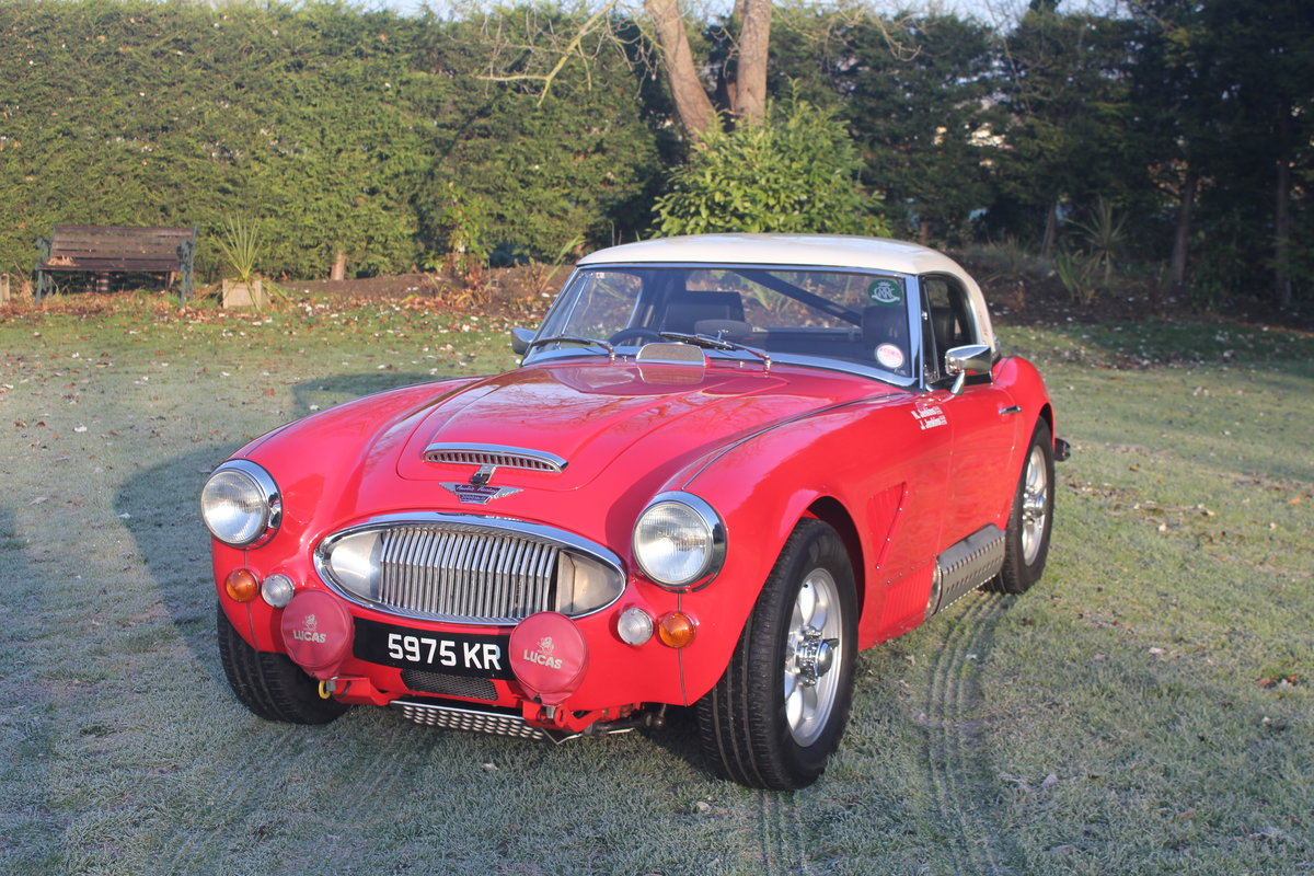 1964 Austin Healey BJ8 rally car SOLD (picture 1 of 5)