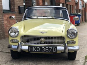 Picture of 1966 Austin Healey Sprite, Primrose Yellow SOLD