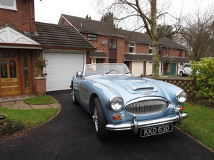 1966 Austin Healey 3000 mk3 BJ8 For Sale