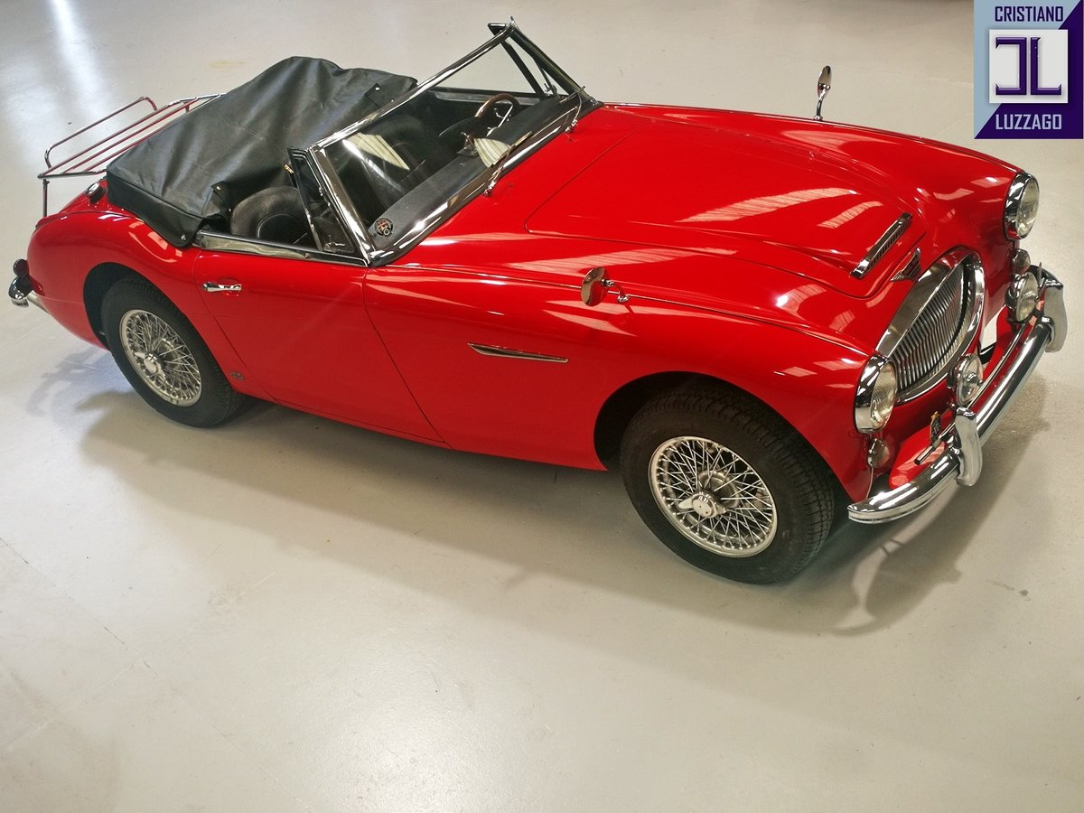 1964 AUSTIN HEALEY 3000 MK 3 BJ8/L For Sale (picture 2 of 6)
