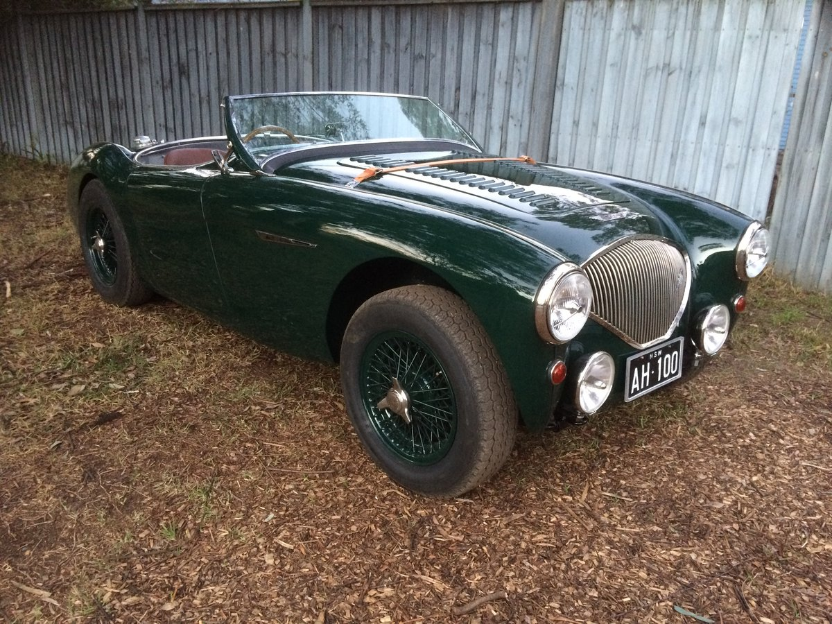 1955 Austin Healey BN2 Full Alloy Body For Sale (picture 1 of 6)