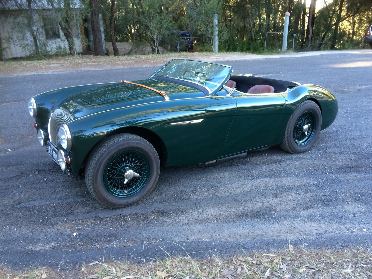 1955 Austin Healey BN2 Full Alloy Body For Sale (picture 2 of 6)