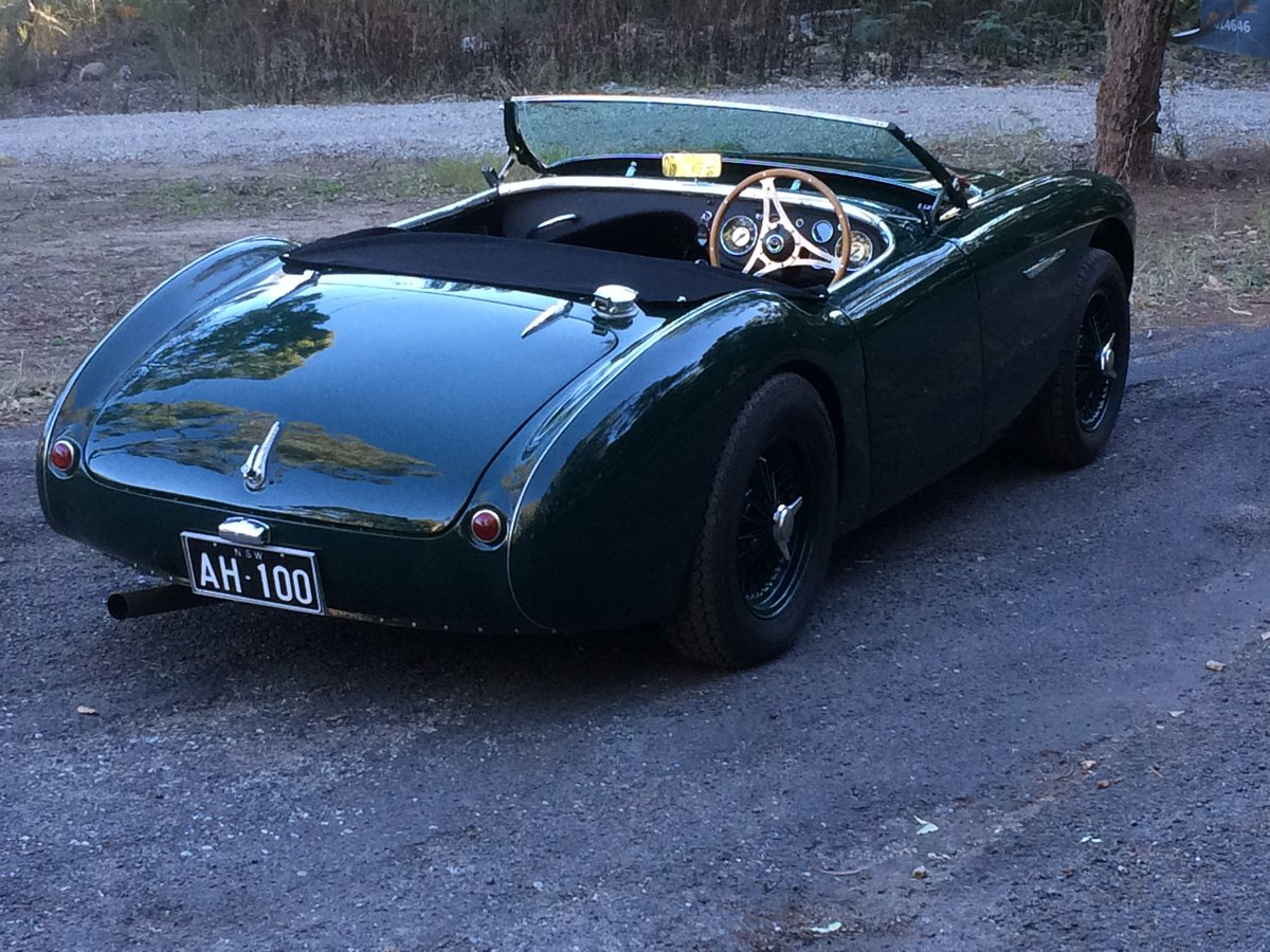 1955 Austin Healey BN2 Full Alloy Body For Sale (picture 6 of 6)