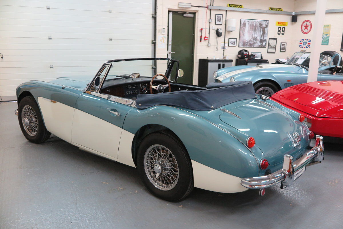 1965 Austin Healey 3000 BJ8 Mk3 - Overdrive  For Sale (picture 2 of 6)