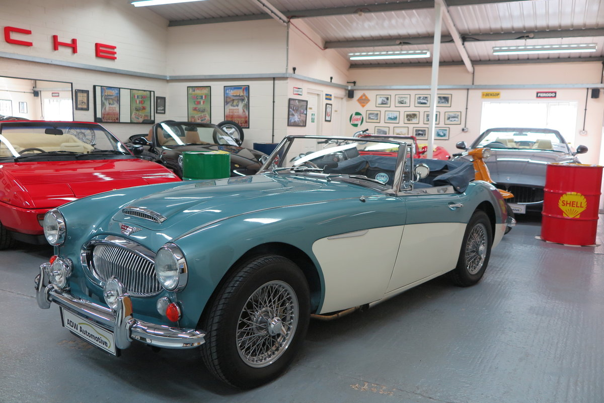 1965 Austin Healey 3000 BJ8 Mk3 - Overdrive  For Sale (picture 3 of 6)