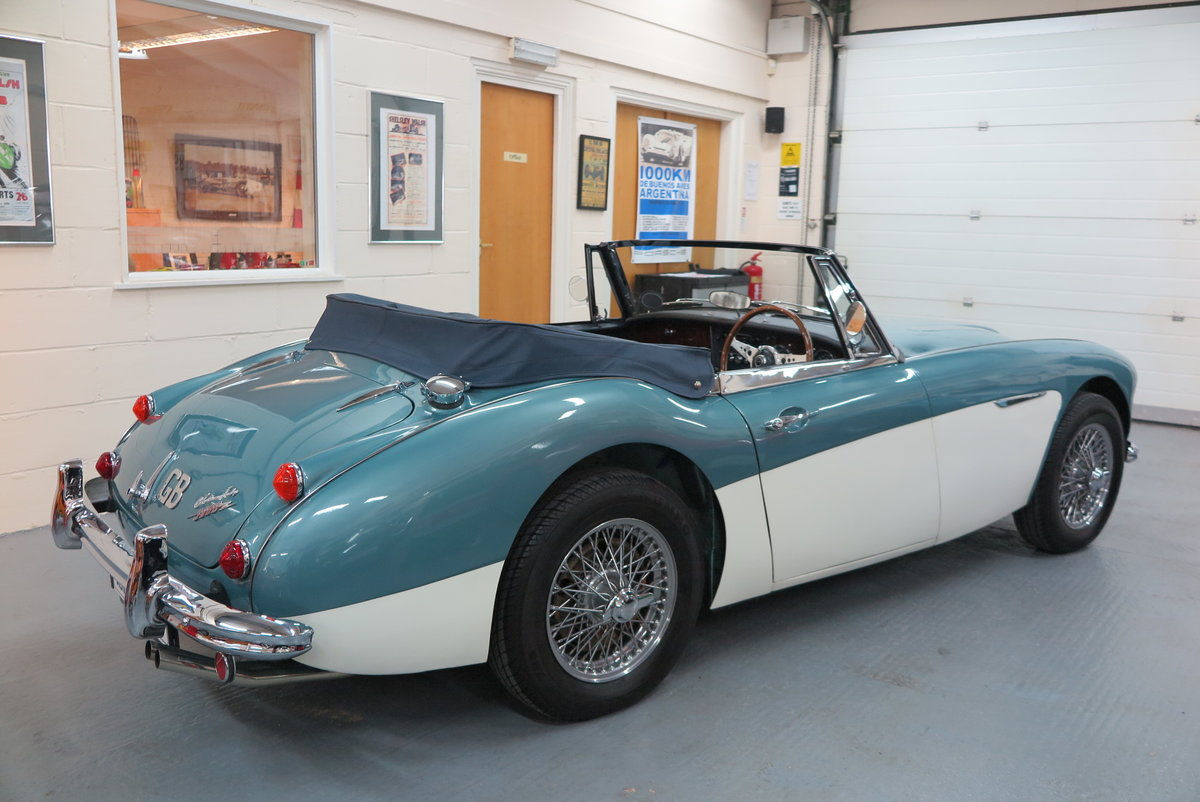 1965 Austin Healey 3000 BJ8 Mk3 - Overdrive  For Sale (picture 4 of 6)