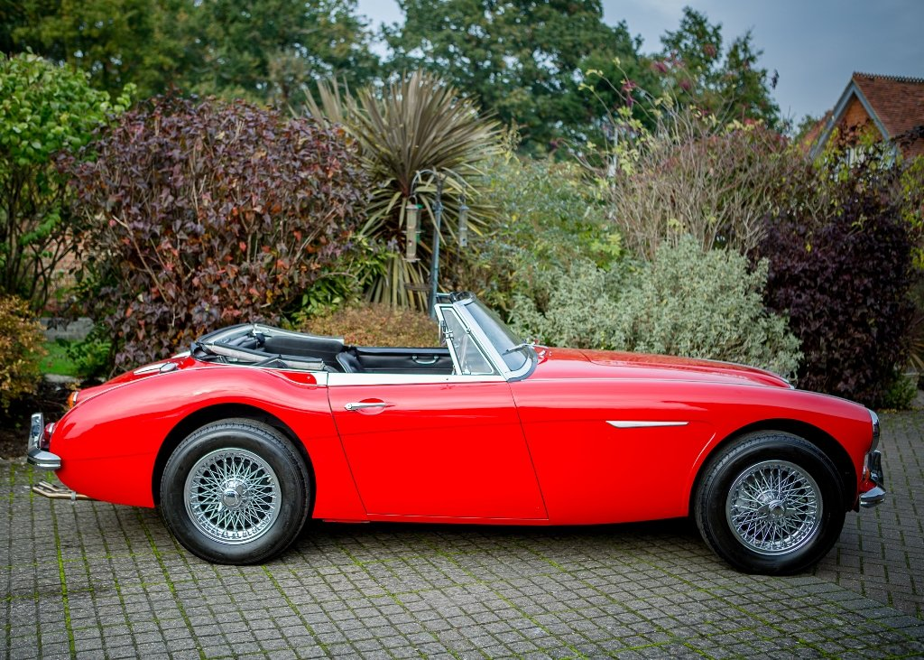 1967 Austin Healey 3000 Mk. III BJ8 Phase II SOLD by Auction (picture 1 of 6)
