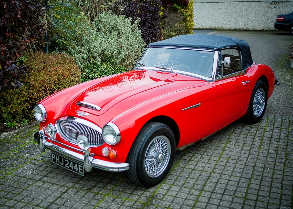 1967 Austin Healey 3000 Mk. III BJ8 Phase II SOLD by Auction (picture 5 of 6)