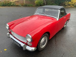 **DECEMBER AUCTION** 1969 Austin Healey Sprite SOLD by Auction