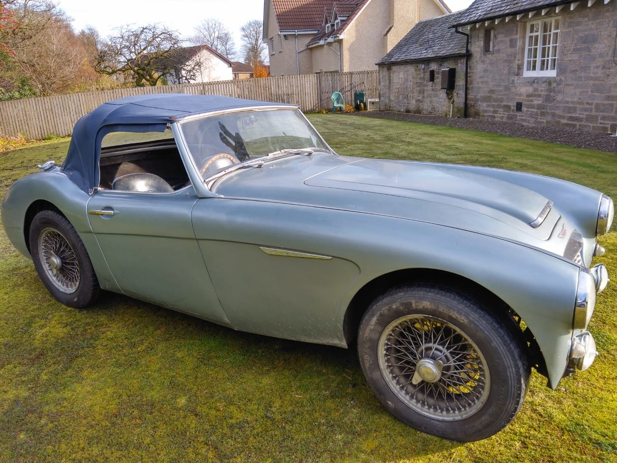 1961 AUSTIN HEALEY 3000 MK1 For Sale (picture 1 of 6)