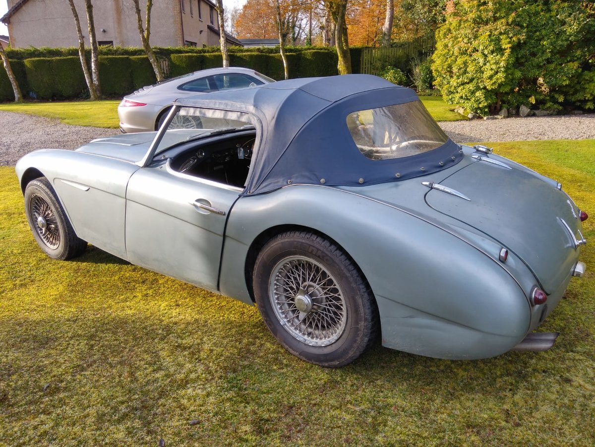 1961 AUSTIN HEALEY 3000 MK1 For Sale (picture 3 of 6)