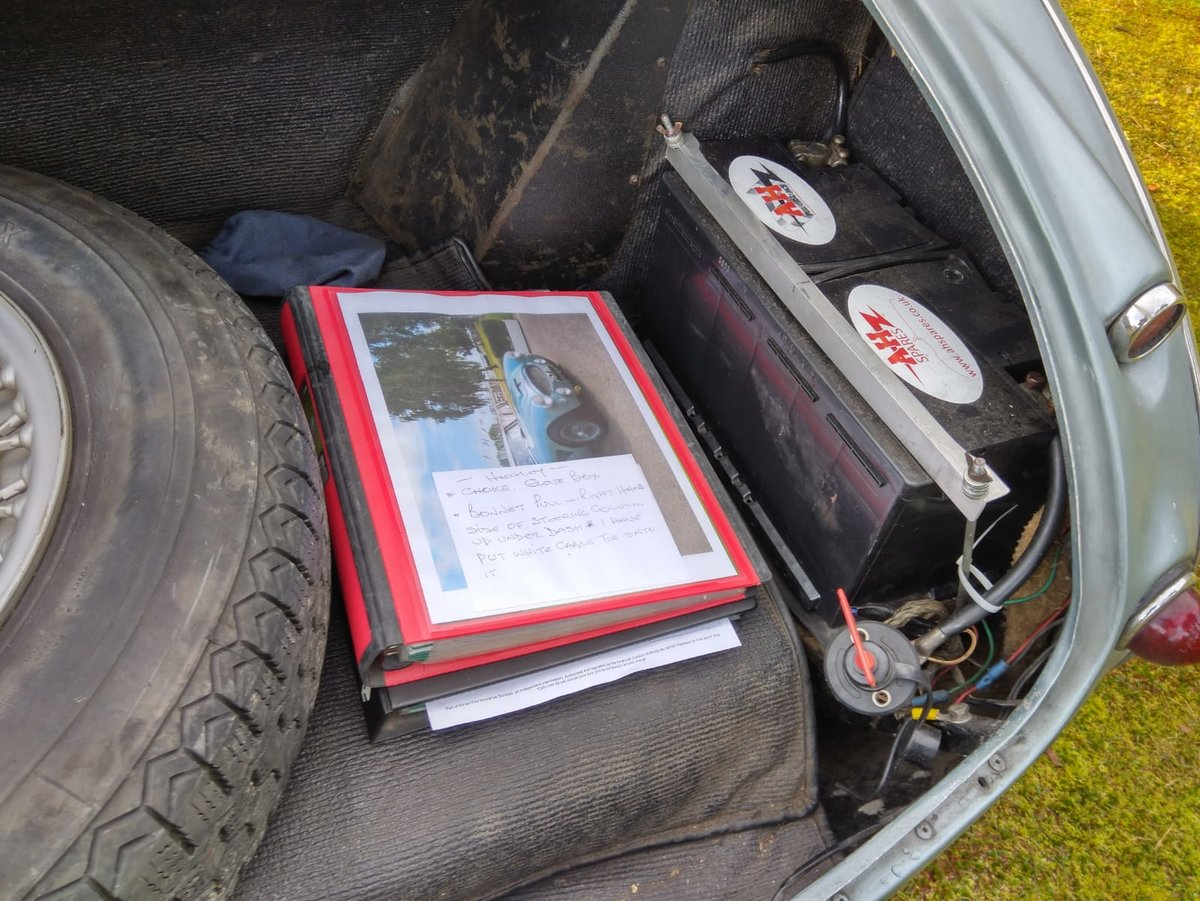 1961 AUSTIN HEALEY 3000 MK1 For Sale (picture 5 of 6)