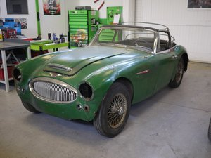 1965 Austin Healey 3000 MKIII Restoration Project SOLD