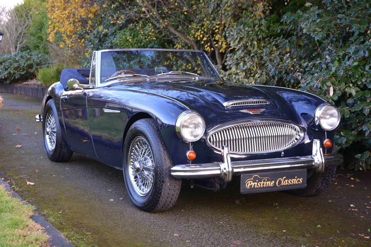 1963 Austin Healey 3000 MKII BJ7 For Sale (picture 2 of 6)